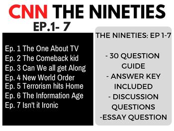 The Nineties CNN Bundle Ep. 1-7