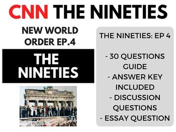 The Nineties CNN Ep. 4 New World Order