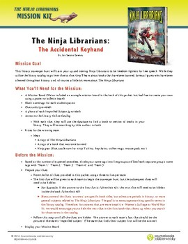 The Ninja Librarians Activity Kit (Library Scavenger Hunt!)