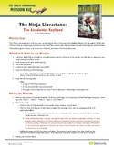 The Ninja Librarians Activity Kit (Library Scavenger Hunt!)