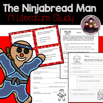 The Ninjabread Man: A Literature Unit