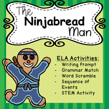 The Ninjabread Man - ELA Task Cards