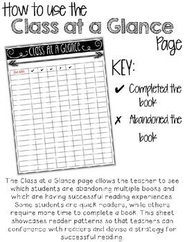 The No Abandon Book Challenge (Editable!)