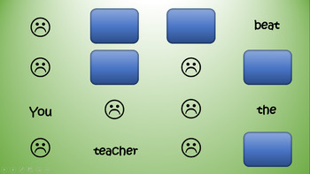The No-Fuss Classroom You Beat the Teacher! PowerPoint Game