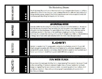The No-Fuss Early Finisher Enrichment Choice Board Weeks 1-4 [FREE RESOURCE]