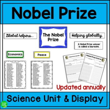 Science Bulletin Board: The Nobel Prize - Global Helpers...Helping Globally!