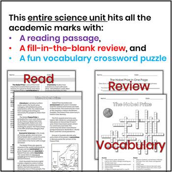 Science Bulletin Board Nobel Prize