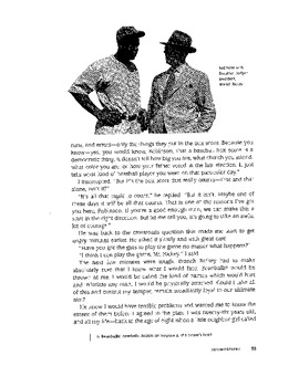 """""""The Noble Experiment"""" Jackie Robinson as told to Alfred Duckett"""