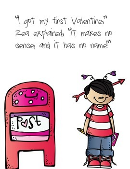 The Nonsense Valentine: Book with QR Codes on Idioms