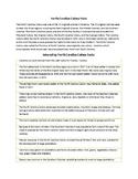 The North Carolina Colony Facts Handout