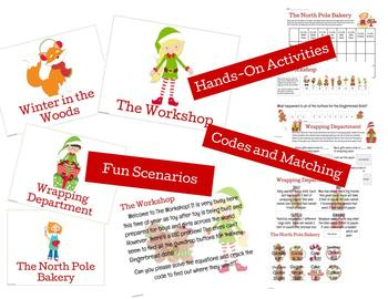 The North Pole: Hands-On and Engaging Math Activities