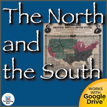 The North and the South Interactive Notebook
