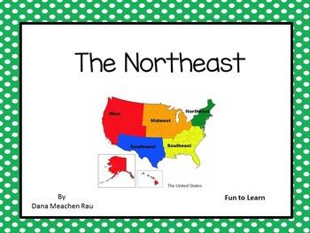 The Northeast - A True Book