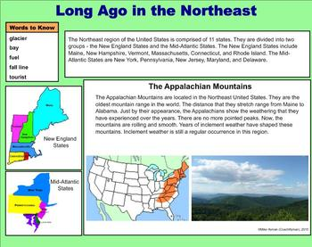 The Northeast U.S. -  A Fourth Grade PowerPoint Introduction