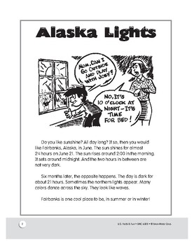 The Northern Lghts: Learning about Alaska: Reading Unit for Grades 1–3