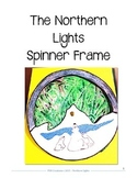 The Northern Lights (Aurora Borealis) Spinner Frame