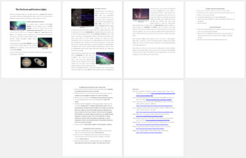 The Northern and Southern Lights - Science Reading Article - Grade 8 and Up