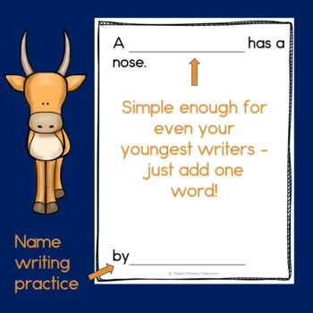 The Nose Book, Class Book with Sight Words