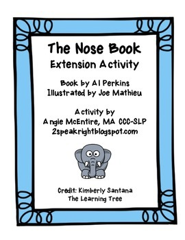 The Nose Book: Extension Activity