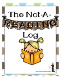 "The ""Not A Reading Log"""