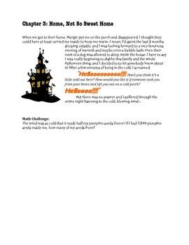 The Not So Great Pumpkin- A Halloween Math Story (grades 3-5)