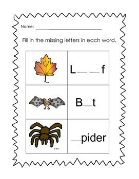 The Not-So-Scary Halloween Literacy Packet