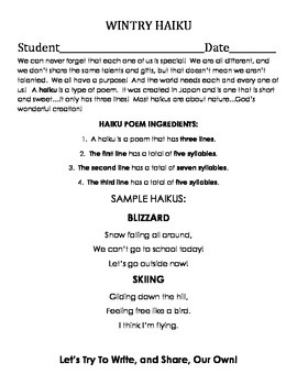 The Not-So-Special Snowflake Readers' Theater Activity Packet (CHRISTIAN)