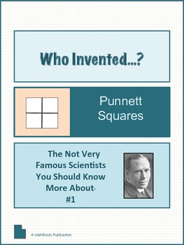 Reginald Punnett: A Not Very Famous Scientist You Should Know