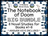 The Notebook of Doom BIG BUNDLE (Cummings) 8 Novel Studies: Books #1-8 (210 pgs)