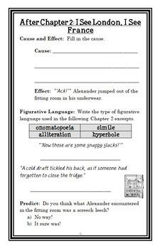 The Notebook of Doom BUNDLE (Troy Cummings) 3 Novel Studies: Books #1-3 (84 pgs)