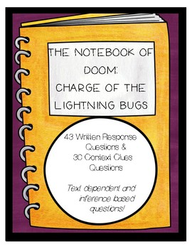The Notebook of Doom: Charge of the Lightning Bugs (Book 8)