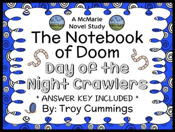 The Notebook of Doom: Day of the Night Crawlers (Troy Cummings) Novel Study