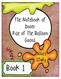 The Notebook of Doom: Rise of The Balloon Goons Novel Stud