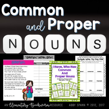 The Noun Bundle: (Proper Nouns, Plural Nouns, and Possessive Nouns)