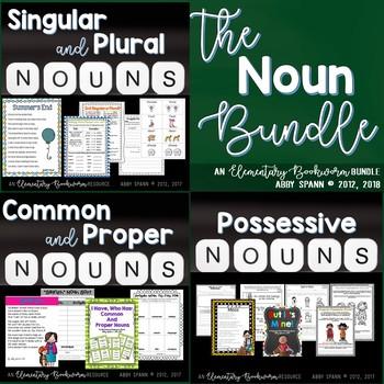 The Noun Bundle: (Proper Nouns, Plural Nouns, and Possessi