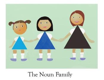 The Noun Family Poster