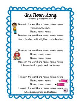 The Noun Song!