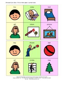 The Noun is Verbing 3-Symbol Utterances