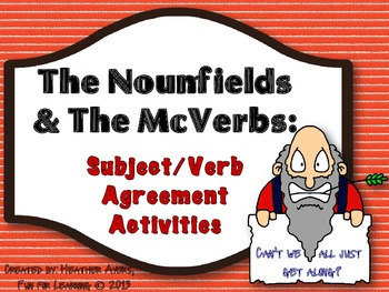 The Nounfields and the McVerbs