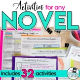 The Novel: a unit for any novel {secondary English}
