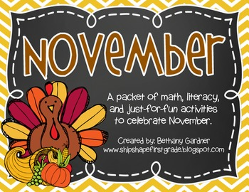 The November Packet