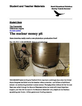 The Nuclear Money Pit