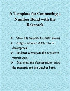 The Number Bond and Rekenrek Connection