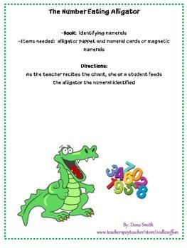 The Number Eating Alligator
