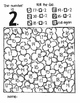 The Number Is...MISSING ADDENDS:  SUBTRACTION (a roll and color game)