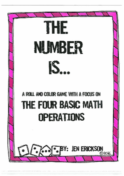 The Number Is...The Four Basic Operations