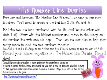 The Number Line Bunnies