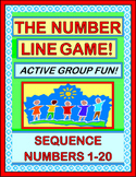 """The Number Line Game!"" - Active Number Sequencing, 1-20!"