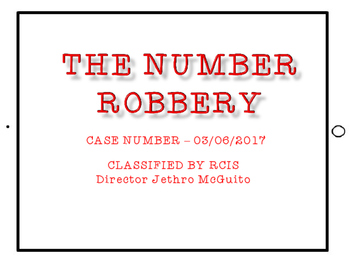 The Number Robbery