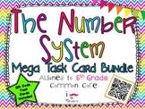 The Number System Mega Task Card Bundle